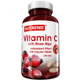 Nutrend Vitamin C with rose hips 100 табл