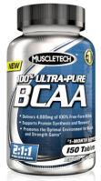 MT 100% Ultra-Pure BCAA 150 капсул