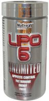 Nutrex Black Lipo 6 Unlimited 120 капсул