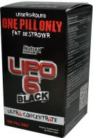 Nutrex Black Lipo 6 Black Ultra Concentrate