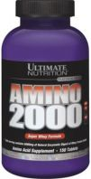 Ultimate Nutrition Super Whey Amino 2000 330 табл