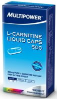 Multipower L-Carnitine 500 мг 45 капсул